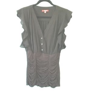 Xoxo black blouse size M